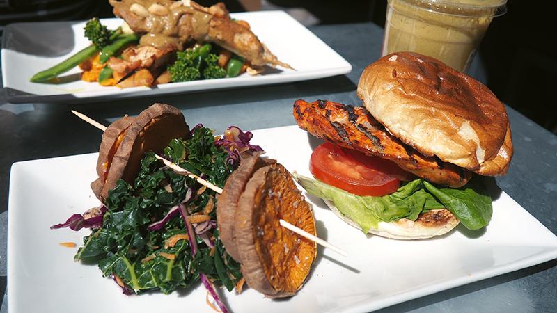 Harissa Chicken Burger - Prep Fitness Kitchen