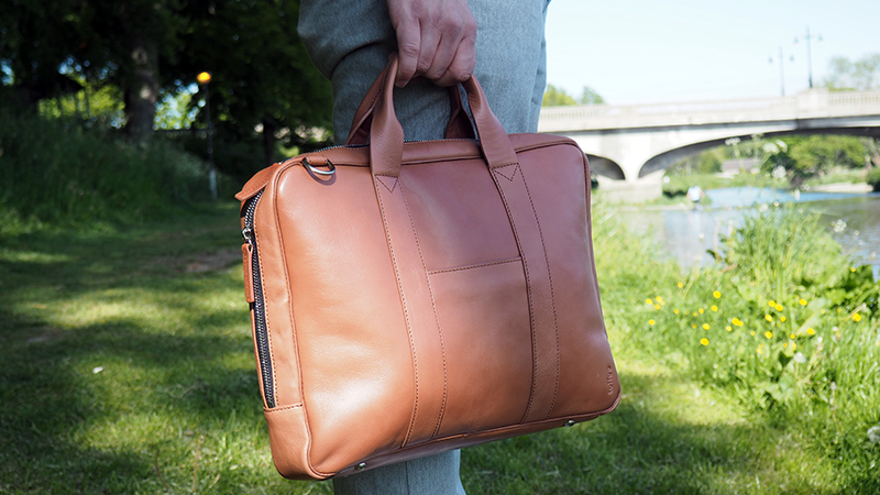 Toffee Leather Briefcase