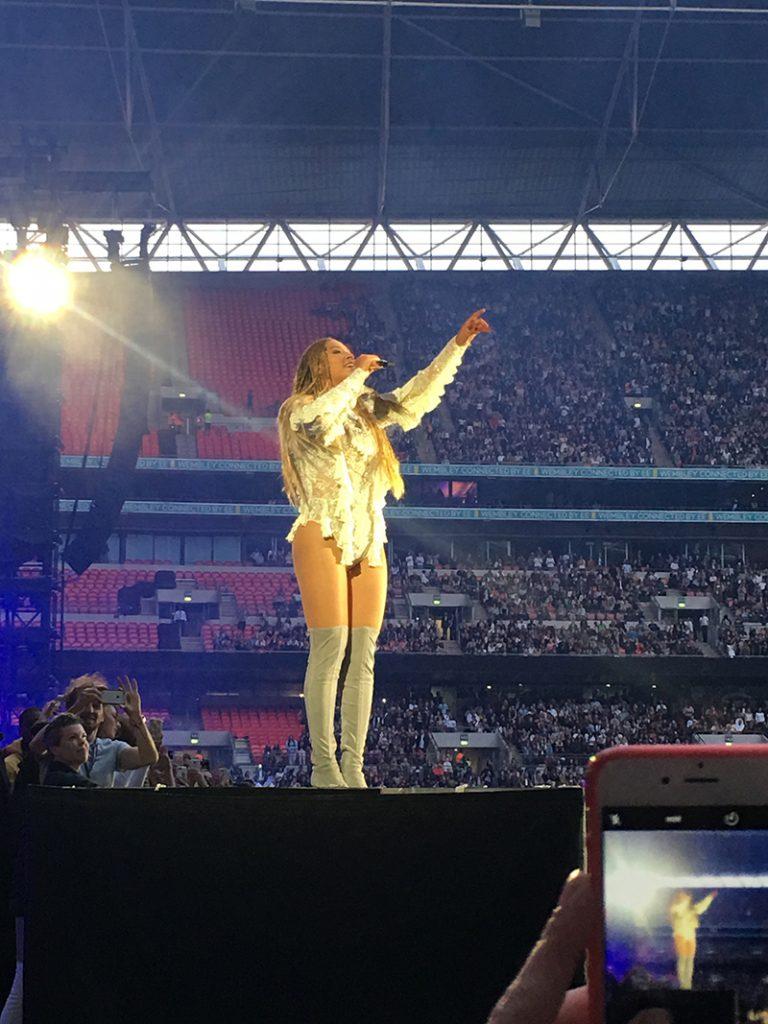 Beyonce Wembley