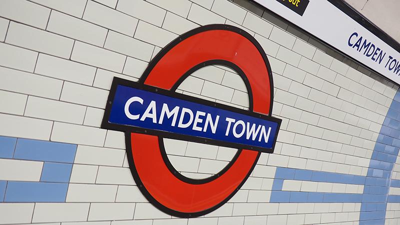 Camden town station