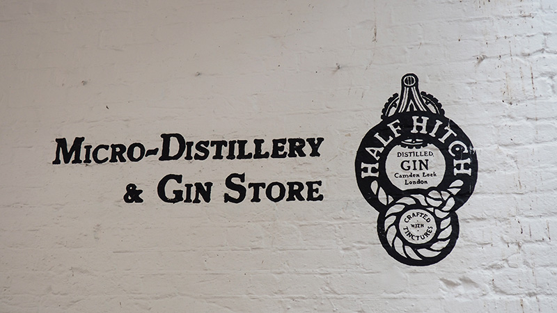 Camden Gin shop
