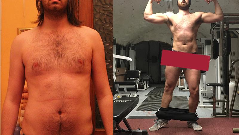 Fitness Progress Photo