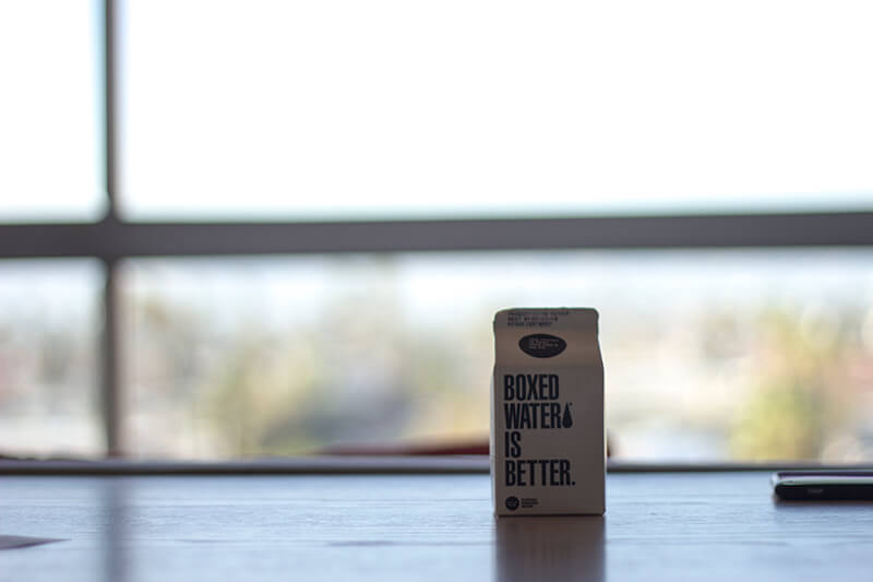 The Line Hotel - Boxed Water