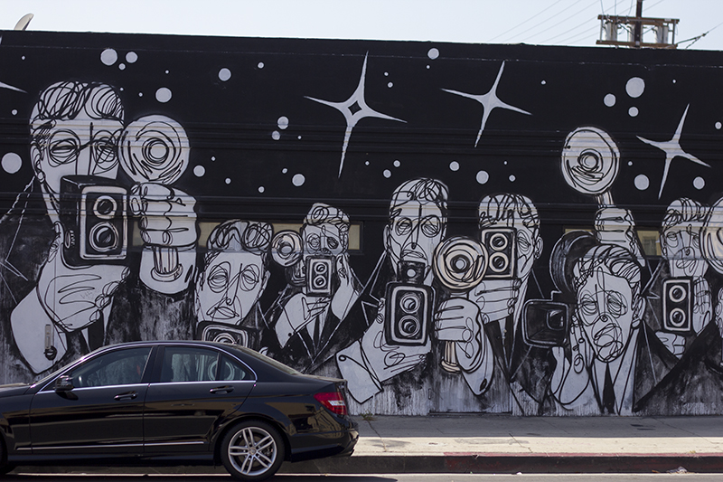 Los Angeles Wall art