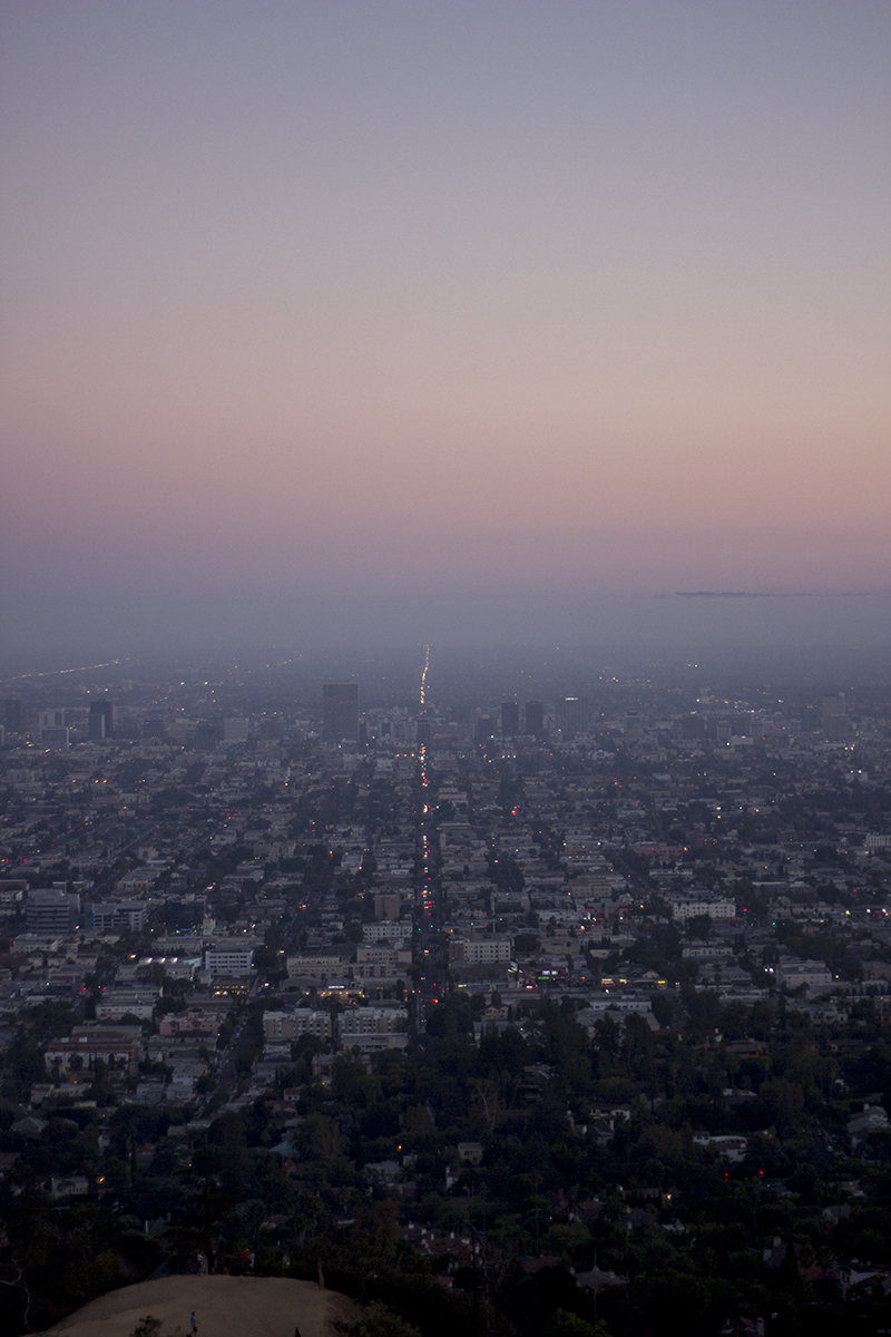 View over Los Angeles