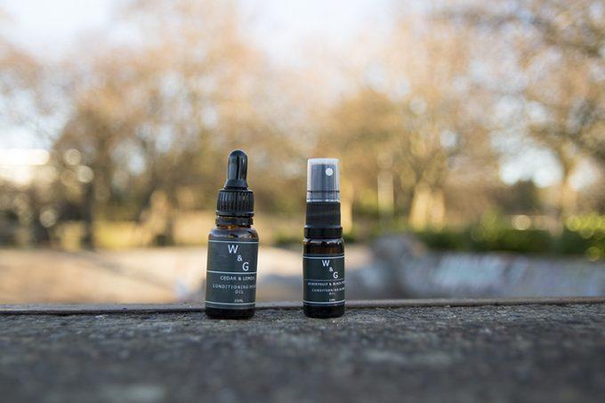 Westburn and Granite Beard Oil
