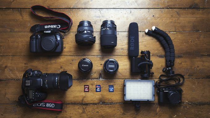 What camera equipment I use for blogging