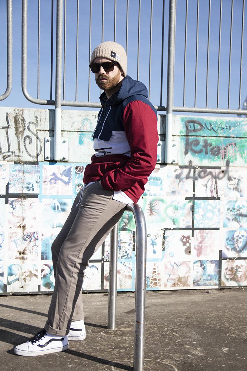 Vans Skatepark fashion photoshoot