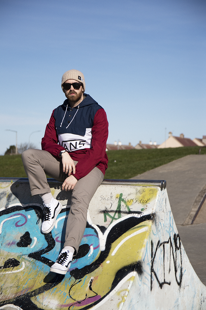 Mens' Fashion Skate Inspired outfit