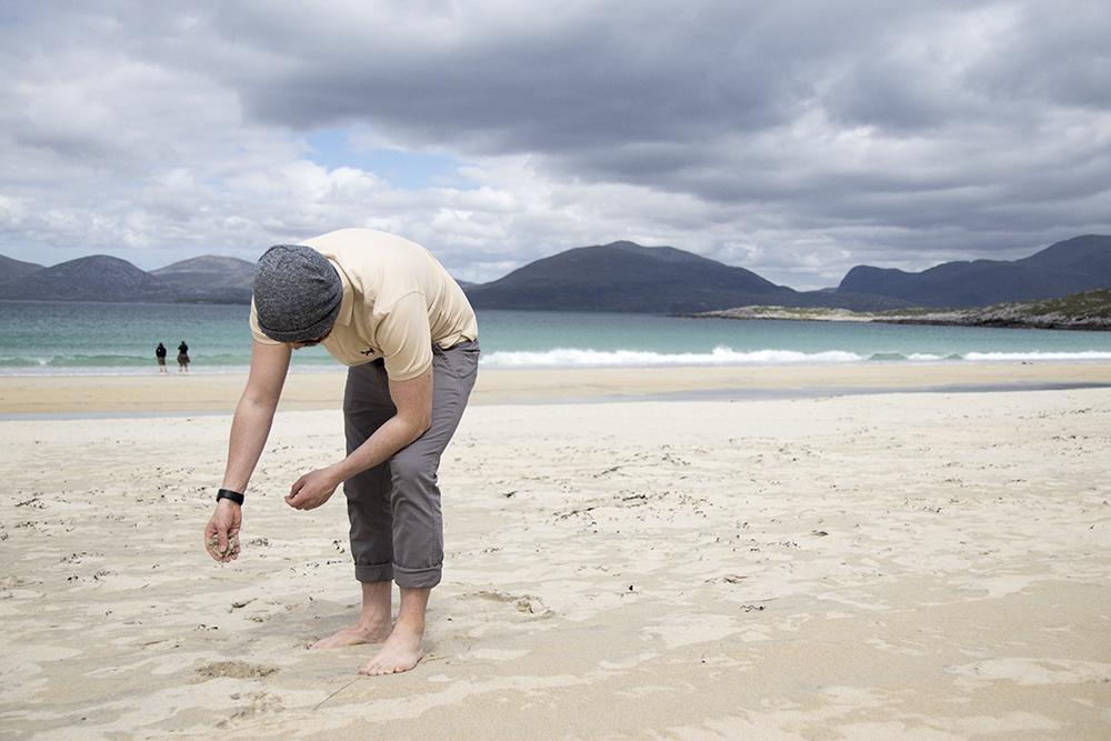 Golden sands of Luskentyre beach